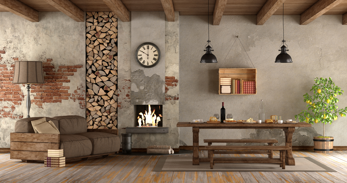 villa-stile-rustico